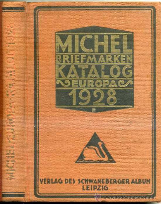 MICHEL BRIEFMARKEN KATALOG EUROPA 1928 (Filatelia - Sellos - Catálogos y Libros)