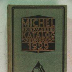 Sellos: MICHEL BRIEFMARKEN KATALOG - EUROPA, 1929.. Lote 30349776