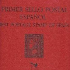 Sellos: PRIMER SELLO POSTAL ESPAÑOL - CATALOGO VENTA 6 CUARTOS NEGRO ESTUDIO - DE LUJO. Lote 30916252