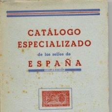 Sellos: CATALOGO ESPECIALIZADO DE LOS SELLOS DE ESPAÑA 1945/46 4ªEDICIÓN FRANCISCO DEL TARRÉ. Lote 31308416