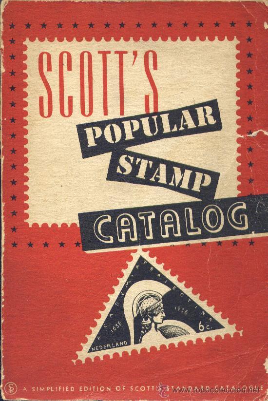 CATALOGO MUNDIAL DE SELLOS SCOTT´S 1950 (Filatelia - Sellos - Catálogos y Libros)