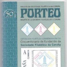 Sellos: 3738- CATALOGO PORTEO DE LA EXPO. V CENT.SDAD FILATELICA. Lote 31528710