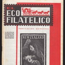 Sellos - EL ECO FILATELICO 473 - REVISTA SELLOS FILATELIA DICIEMBRE 1966 - 31590483