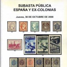 Briefmarken - SOLER Y LLACH, SUBASTA PÚBLICA ESPAÑA Y EX-COLONIAS 2008 - 31788277