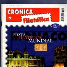 Sellos: REVISTA CRONICA FILATELICA. 1997. Nº 150. AFINSA AUCTIONS, SUBASTA PARA LA HISTORIA, FIESTA MUNDIAL.. Lote 33412373
