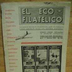 Sellos: EL ECO FILATELICO - LOTE DE 49 REVISTAS. Lote 33964851