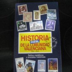 Sellos: HISTORIA POSTAL DE LA COMUNIDAD VALENCIANA - SELLOS METÁLICOS. Lote 34600622