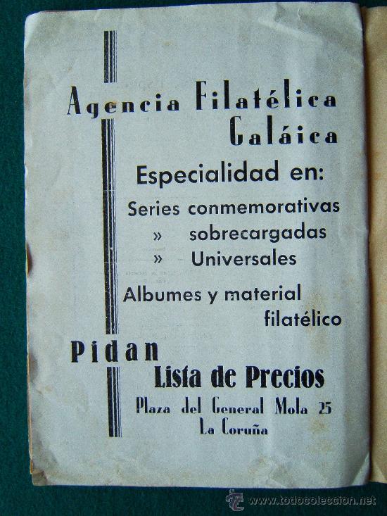Sellos: EL ECO FILATELICO ESPAÑOL - 2 REVISTAS - Nº 1 Y Nº 2 - LA CORUÑA - 1938 - II AÑO TRIUNFAL - Foto 6 - 35204217