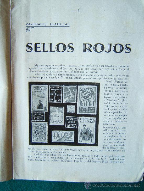 Sellos: EL ECO FILATELICO ESPAÑOL - 2 REVISTAS - Nº 1 Y Nº 2 - LA CORUÑA - 1938 - II AÑO TRIUNFAL - Foto 11 - 35204217