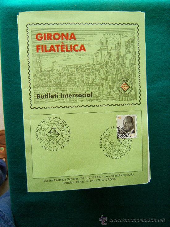 GIRONA FILATELICA - BUTLLETI INTERSOCIAL Nº 136 A 263 - 127 CUADERNOS - MUY ILUSTRADOS - 1991/2011 (Filatelia - Sellos - Catálogos y Libros)