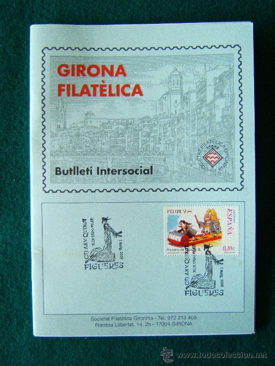 Sellos: GIRONA FILATELICA - BUTLLETI INTERSOCIAL Nº 136 A 263 - 127 CUADERNOS - MUY ILUSTRADOS - 1991/2011 - Foto 3 - 35204617
