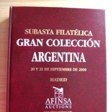 Sellos: GRAN COLECCIÓN ARGENTINA - SUBASTA FILATÉLICA AFINSA. Lote 35950583