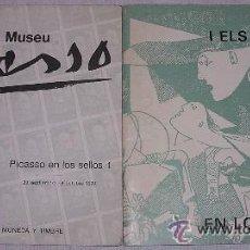Sellos: MUSEO PICASSO- CATÁLOGO EXPOSICIÓN PICASSO EN LOS SELLOS. 29/09 A 8/10 DE 1978. A ESTRENAR. Lote 36324506
