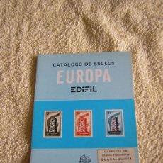 Sellos: CATALOGO DE SELLOS EUROPA, SUPLEMENTO 1980 - EDIFIL -. Lote 37363437