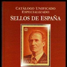 Sellos: CATÁLOGO UNIFICADO ESPECIALIZADO SELLOS DE ESPAÑA SERIE. BURDEOS .TOMO.IV.1991-2010. Lote 37418936