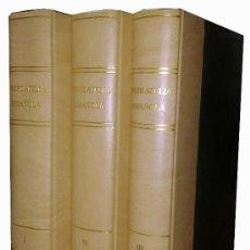 Sellos: PREFILATELIA ESPAÑOLA . M.TIZÓN . J.GUINOVART . TOMOS I-II-III.. Lote 37419611
