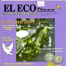 Sellos: 17-775. REVISTA EL ECO FILATÉLICO Y NUMISMÁTICO. Nº 1200. Lote 37594320