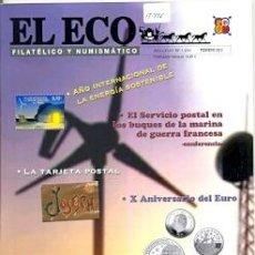 Sellos: 17-776. REVISTA EL ECO FILATÉLICO Y NUMISMÁTICO. Nº 1204. Lote 37594341