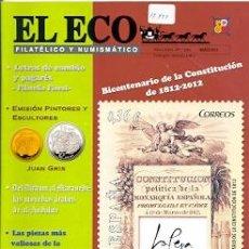 Sellos: 17-777. REVISTA EL ECO FILATÉLICO Y NUMISMÁTICO. Nº 1205. Lote 37594359