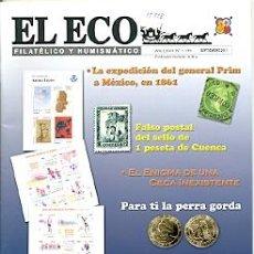 Sellos: 17-778. REVISTA EL ECO FILATÉLICO Y NUMISMÁTICO Nº 1199. Lote 37594374