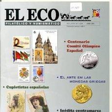 Sellos: 17-783. REVISTA EL ECO FILATÉLICO Y NUMISMÁTICO Nº 1208. Lote 37594473