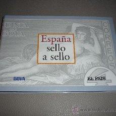 Sellos: ESPAÑA SELLO A SELLO. EL PAIS - BBVA. COLECCION FILATELICA REPRODUCIDA. TAMBIEN LAS VENDO SUELTAS . Lote 37720252