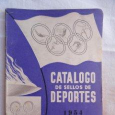 Sellos: CATÁLOGO DE SELLOS DE DEPORTES DE JOSE MARIA VIDAL TORRENS. AÑO 1954.. Lote 38724340