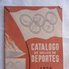Sellos: CATÁLOGO DE SELLOS DE DEPORTES DE JOSE MARIA VIDAL TORRENS. AÑO 1956.. Lote 38724398