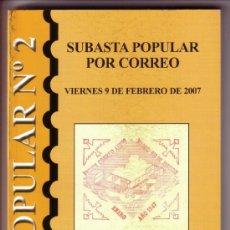 Sellos: ESPAÑA. CATÁLOGO * SUBASTAS SEVILLA Nº 2 * (INCLUYE POSTALES). NUEVO.. Lote 38888530