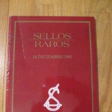 Sellos: CATALOGO SUBASTA SELLOS RAROS, A.LAIZ . Lote 39095898