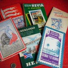 Selos: LOTE DE CATALOGOS MUY INTERESANTES - AÑOS 50 Y 60 CRITIKIAN. Lote 39366021