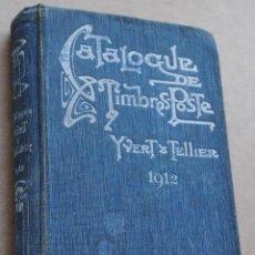 Sellos: 1921 CATALOGUE DE TIMBRES - POSTE YVERT & TELLIER - CHAMPION. Lote 39429635