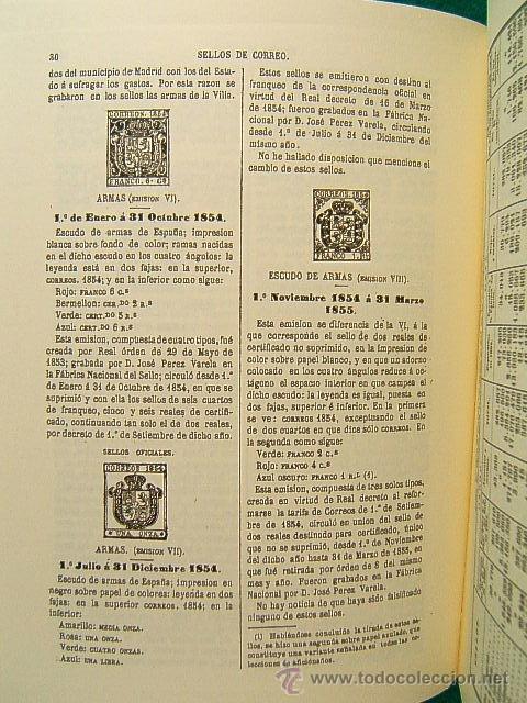 Sellos: RESEÑA HISTORICO DESCRIPTIVA DE LOS SELLOS DE CORREO DE ESPAÑA-ANTONIO FERNANDEZ DURO-2002 DE 1881. - Foto 3 - 39615587