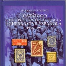 Sellos: ESPAÑA GUERRA CIVIL CATÁLOGO SELLOS LOCALES ALLEPUZ EDIFIL V. EXTREMADURA,GALICIA LEÓN Y CASTILLA N. Lote 45478743
