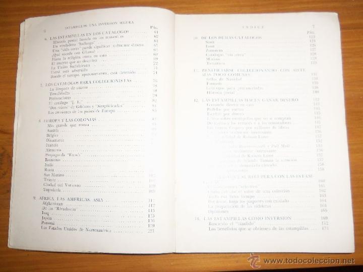 Sellos: ESTAMPILLAS: UNA INVERSION SEGURA, por R. J. Sutton - Editorial V. Lerú - Argentina - 1960 - RARO - Foto 3 - 41238988