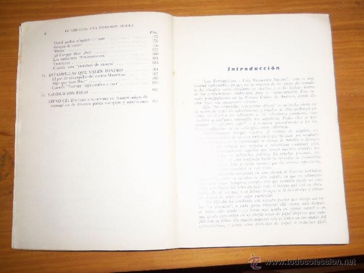 Sellos: ESTAMPILLAS: UNA INVERSION SEGURA, por R. J. Sutton - Editorial V. Lerú - Argentina - 1960 - RARO - Foto 4 - 41238988