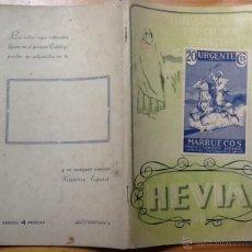 Francobolli: CATÁLOGO DE COLONIAS Y EX-COLONIAS HEVIA 1951. Lote 43543006