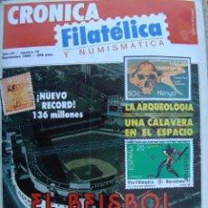 Sellos: REVISTA CRONICA FILATELICA Nº 70 SEPTIEMBRE 1990. Lote 43724052