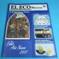 Sellos: EL ECO FILATÉLICO Y NUMISMÁTICO Nº 1148. ENERO 2007. Lote 44246806