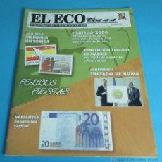 Sellos: EL ECO FILATÉLICO Y NUMISMÁTICO Nº 1147. DICIEMBRE 2006. Lote 44246815