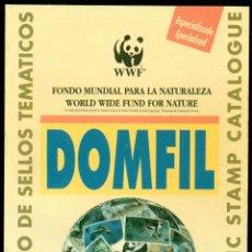 Sellos: *** CATALOGO DOMFIL, FONDO MUNDIAL PARA LA NATURALEZA, 1º EDICIÓN ***. Lote 44265195