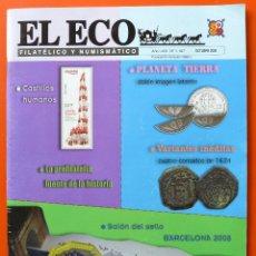 Sellos - EL ECO FILATELICO Y NUMISMATICO - OCTUBRE 2008 - Nº 1167 - 44732705