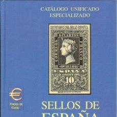 Sellos: CATÁLOGO ESPECIALIZADO EDIFIL 2002 TOMO II. Lote 118107878