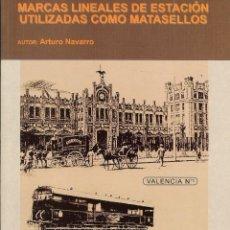 Sellos: MARCAS LINEALES DE ESTACIÓN UTILIZADAS COMO MATASELLOS. Lote 44998402