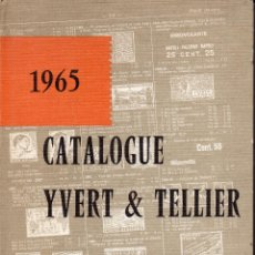 Sellos: CALALOGUE YVERT & TELLIER 1965 TOME II TIMBRES D'EUROPE. Lote 45092866