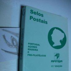 Sellos: CATALOGO DE SELLOS AFINSA - PORTUGAL, AZORES Y MADEIRA. Lote 54475973