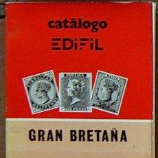 Francobolli: CATALOGO EDIF 1979 GRAN BRETAÑA GIBRALTAR MALTA 135 PAGINAS. Lote 46632309