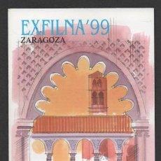 Sellos: INTERESANTE FOLLETO CORREOS EXFILNA 99. Lote 46946584