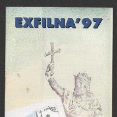 Sellos: INTERESANTE FOLLETO CORREOS EXFILNA 97. Lote 46947047