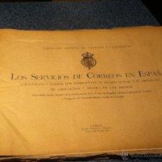 Sellos: MAPAS CARTOGRÁFICOS LOS SERVICIOS DE CORREOS DE ESPAÑA 1927. Lote 47042131